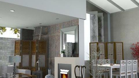 Rustic ii - Rustic - Living room  - by hunny