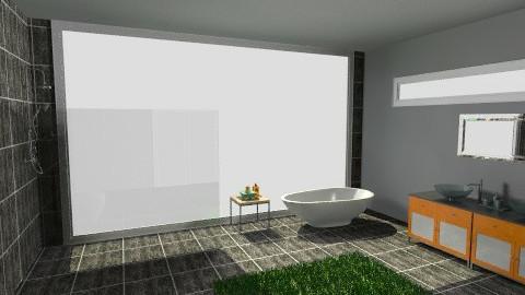 eco friendly bathroom 2 - Eclectic - Bathroom  - by tillsa98
