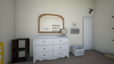 Changing table - Rustic - Kids room  - by savannaroberts23