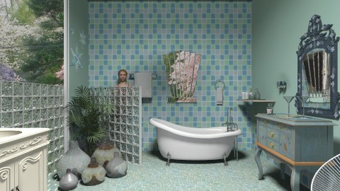 Amanda - Eclectic - Bathroom  - by milyca8