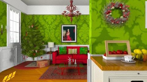 Nicholas - Classic - Living room  - by yourjieee