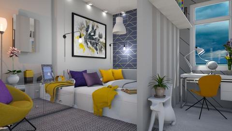 M_ Sweet little corner - Bedroom  - by milyca8