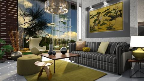 Terence Conran - Retro - Living room  - by ZsuzsannaCs