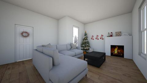 Christmas - Living room  - by 30aheard