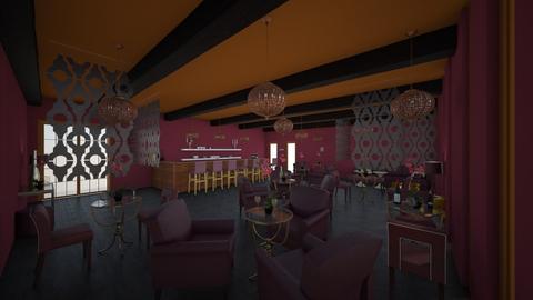 Opulent Trendy Bar - Eclectic - by Loren17