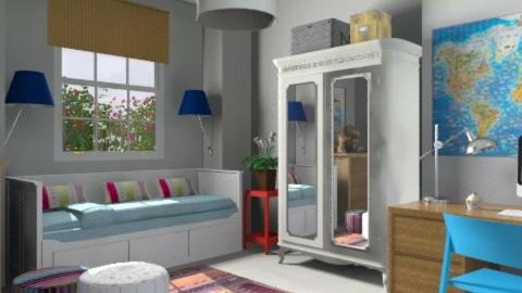 V.Teen - Vintage - Kids room - by 3rdfloor