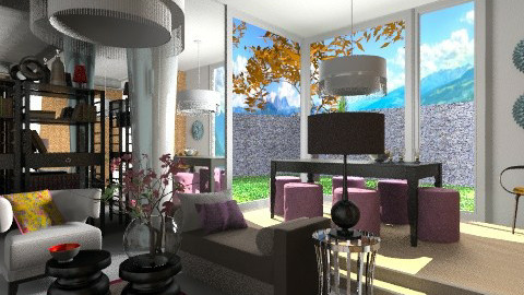 Qing Living Room - Eclectic - Living room  - by 3rdfloor