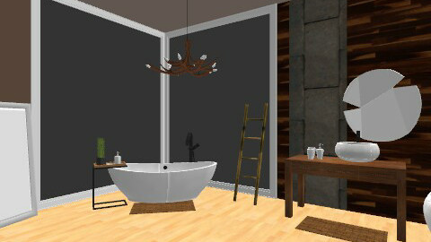 Inspiration #2: Natural Bathroom - Eclectic - Bathroom  - by idesine
