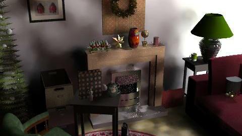 chr333 - Retro - Living room  - by ani_kapanova