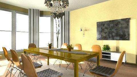 1970s Dining Room - Retro - Dining room - by eleanorkk