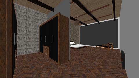 Beadroom1 - Rustic - Bedroom  - by Idizajn