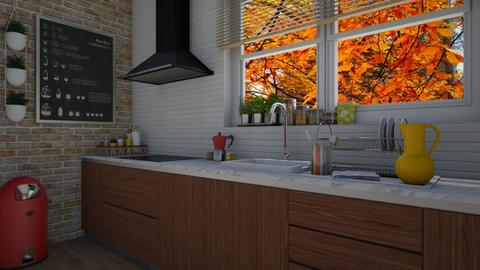 Fall - Kitchen  - by Tuija