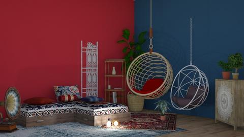 Boho hangout - Modern - by matildabeast