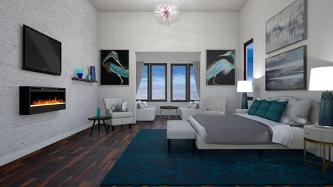 Peacock - Bedroom  - by lpkinteriordesigns