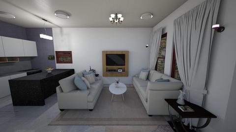 Living room Design ByMech - by ana mechelle