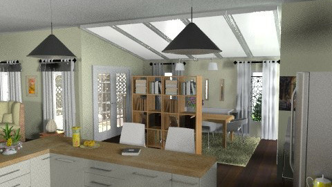 Modern Mix - Kitchen  - by Open Spaces