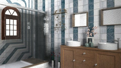 Bathroom1 - Eclectic - Bathroom - by ragazza28