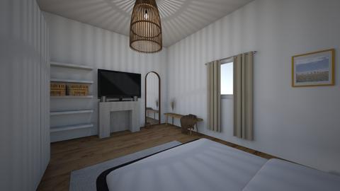 Room Samira - Bedroom - by Sarah Rabii