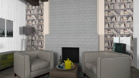 Michelle - Rustic - Living room  - by mindyhhh