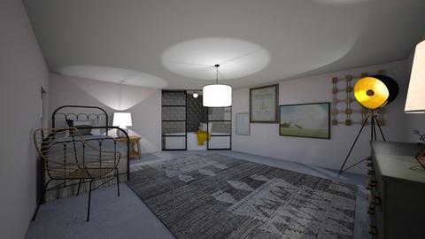 Teen girls room - Bedroom  - by llamaperson