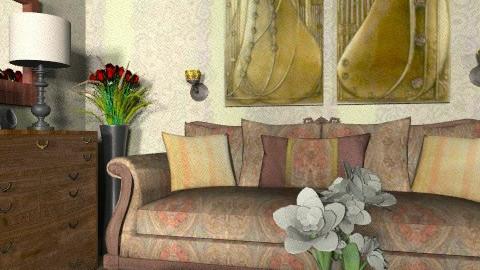 Corner - Classic - Living room  - by milyca8