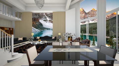 Roberta - Living room  - by Roberta Coelho