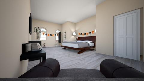 da bed room - Modern - Bedroom  - by koolkidsonly