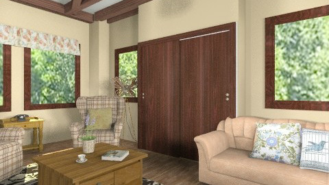Country living - Country - Living room  - by milyca8