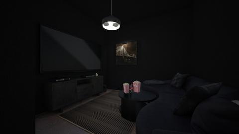 home cinema - by zuzanna13pawlowska