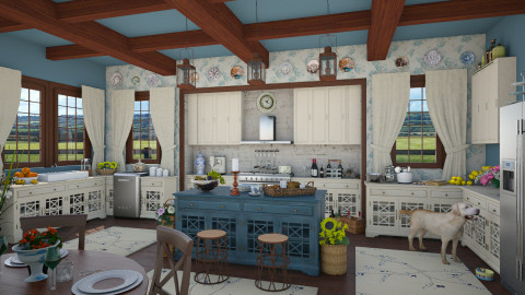 Design 36 Country Kitchen - Kitchen  - by Daisy320