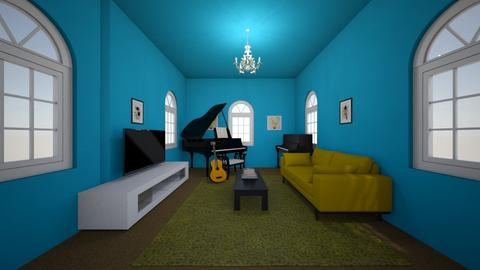 Sunflower Remix - Living room - by mydreamjob25