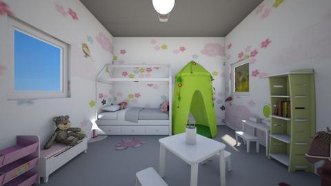 Elizabeth  - Kids room  - by Laura DROUHARD_58