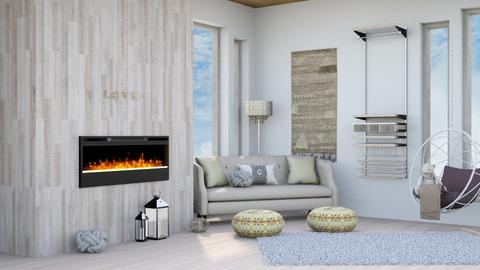Jahsoftball_Japandi_ - Living room  - by Jahsoftball_