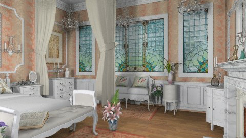 Coraline Bedroom - Classic - Bedroom  - by Bibiche