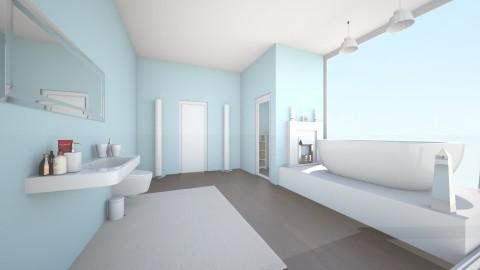 Spa Bath - Minimal - Bathroom  - by lydiarose108