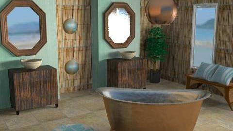 Mud Bath - Eclectic - Bathroom  - by channing4