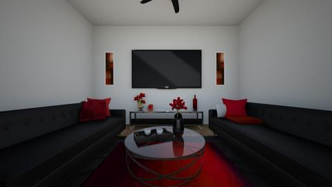 Redrum - Retro - Living room - by Stag_Estate