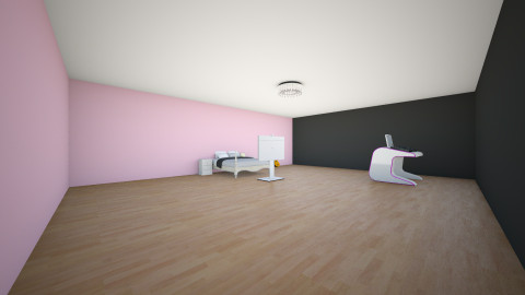 Dahvies room - Glamour - Bedroom  - by HeatherLeeClifford