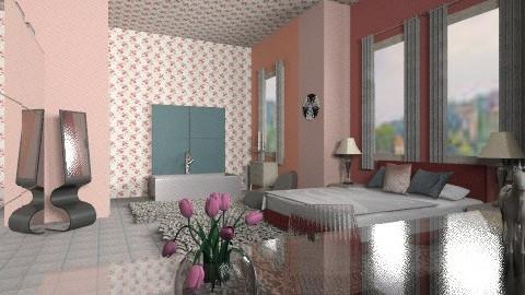 grey - Eclectic - Bedroom - by mrschicken