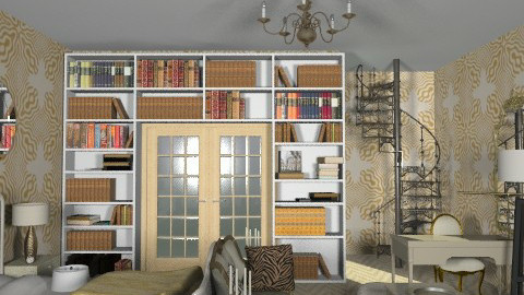suite - Glamour - Bedroom  - by mide93