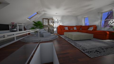 Putney 1 - Living room - by nanabpf