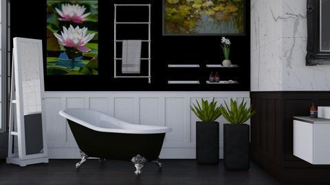 Lily Pond Bathroom - Bathroom  - by Vae Riley