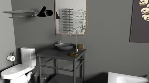 simple dream bath - Minimal - Bathroom  - by julia_dnameinibchi