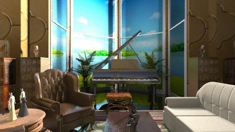 Glamour Room - Glamour - Living room - by Ulie