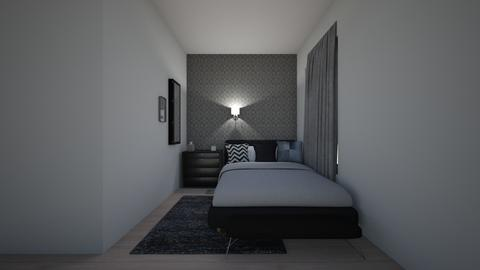 bedroom - by reddvelvf