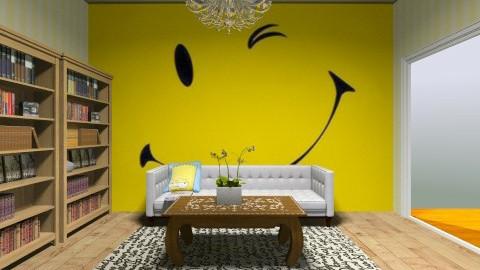 Smiley - Living room - by langerreka