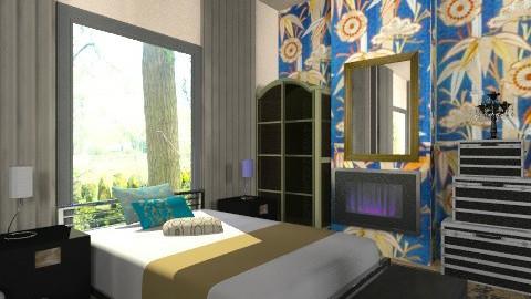 Small grandeur bed - Glamour - Bedroom  - by mrschicken