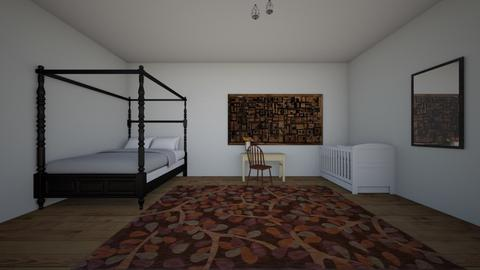 clean and simple - Modern - Bedroom  - by charyse