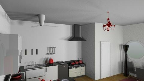 cocina - Masculine - Kitchen - by jvfernadezd
