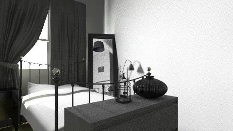 my room design 1 - Glamour - Bedroom  - by nicolealderton1